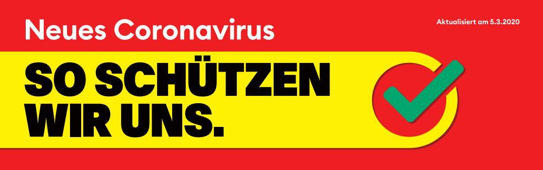 Coronavirus – wir sind für Sie da, in dieser Krise erst recht ...